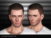 nightcrawler sims' hair05