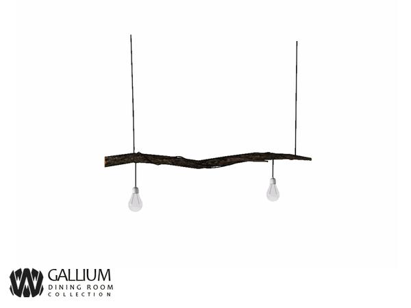 wondymoon's Gallium Ceiling Lamp