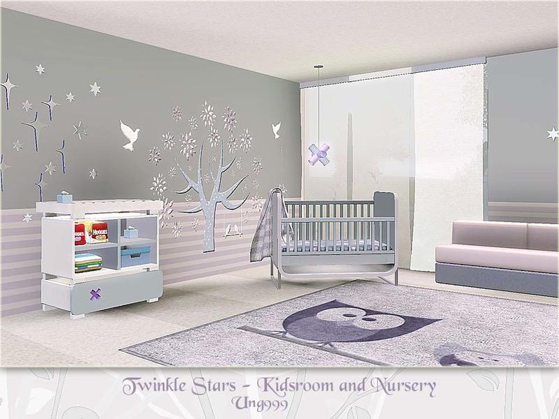 ung999s Twinkle Stars Kids Room and Nursery