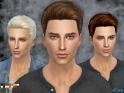 cazy's nicholas hairstyle - sims