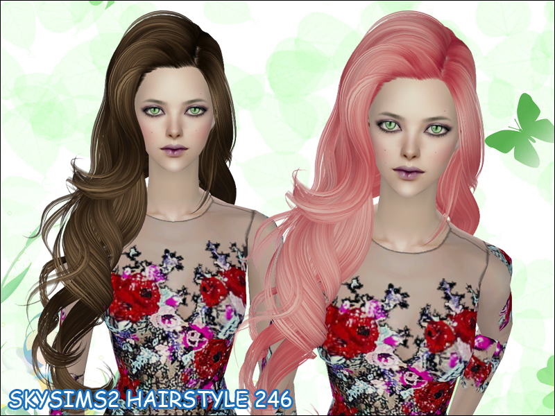 Free Sims 2 Hair Sets