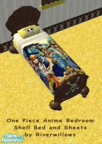 Riverwillows' One Piece Anime Bedroom Set - Bed