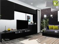 ArtVitalex's Besta Living Room TV Units