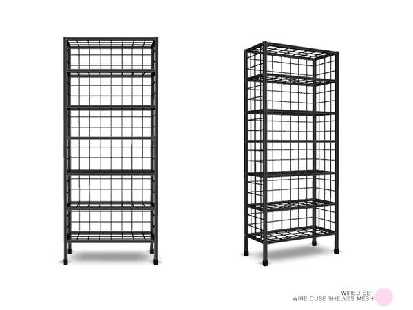 DOT's Wire Cube Shelves Mesh