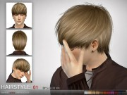 club mk sims 4 - hair #1