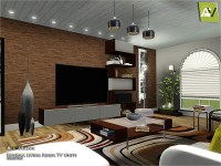 ArtVitalex's Sonoma Living Room TV Units