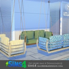 Swing Chair Game Cushions Outdoor Target Simcredible!'s Summer Illusion Hanging Loveseat