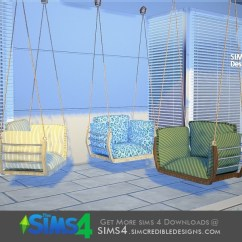 Hanging Chair The Sims 4 Tall Drafting Office Chairs Simcredible S Summer Illusion