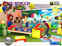 jomsims' Super mario kids bedroom