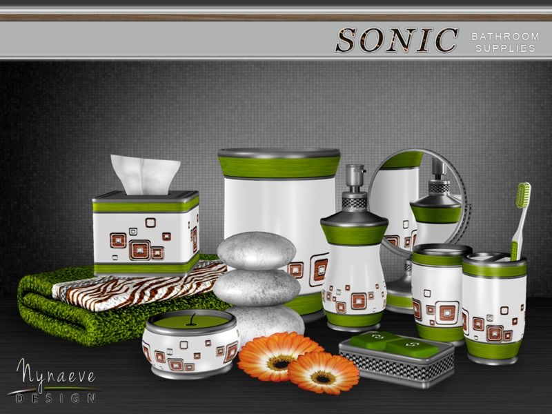 NynaeveDesigns Sonic Bathroom Supplies