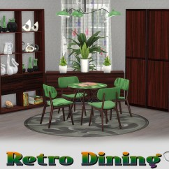 Retro Dining Room Table And Chairs Realspace Chair Mat Buffsumm S Diningroom