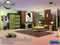 jomsims' Melvia modern teen bedroom