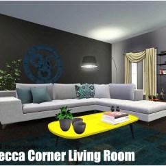 Corner Sofa Set Latest Design Courts Mammoth Malaysia Qoact's Rebecca Living Room