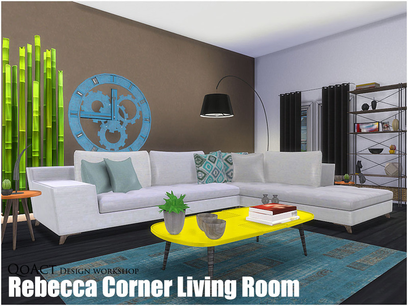 corner living room table good colour schemes for rooms qoact s rebecca