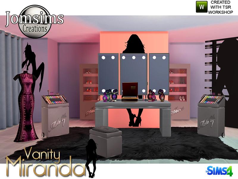 Jomsims Miranda Vanity Beauty Set