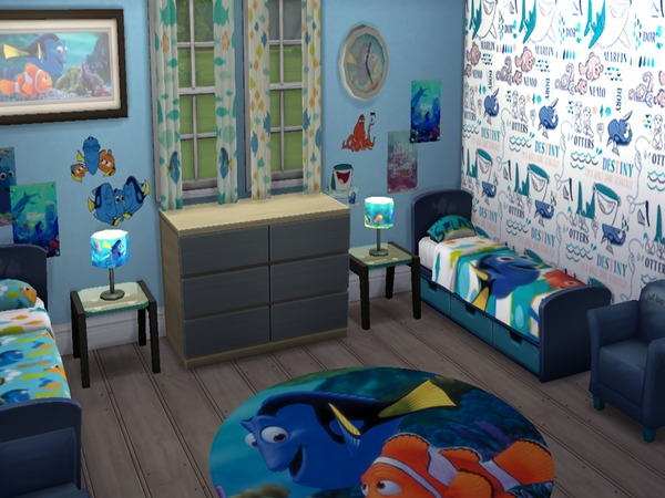 Grumpyglitters Disney Pixar Finding Dory Child Room Set
