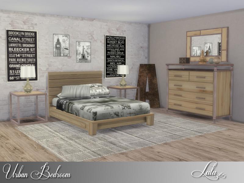 Lulu265s Urban Bedroom