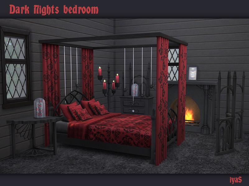 soloriyas Dark Nights Bedroom