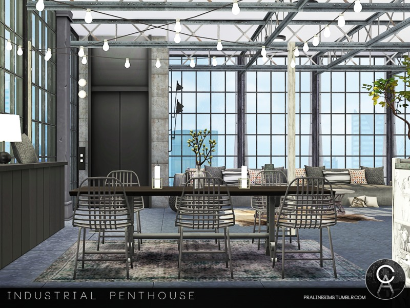 value city kitchen sets farmhouse sinks pralinesims' industrial penthouse