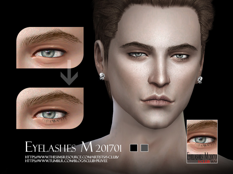 sims 4 makeup male