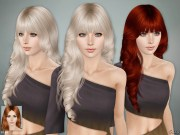 cazy's lisa hairstyle set - sims