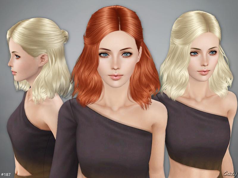 Cazy's Sims 3 Hair