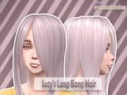adult sucy's long bang hairs