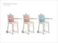 Severinka_'s [Princess nursery] - toddler high chair