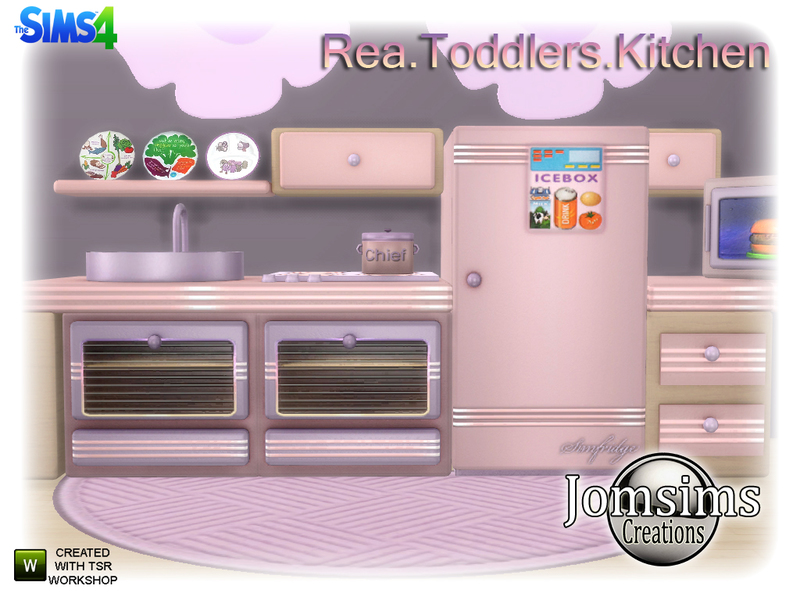 jomsims Rea Toddlers Kitchen