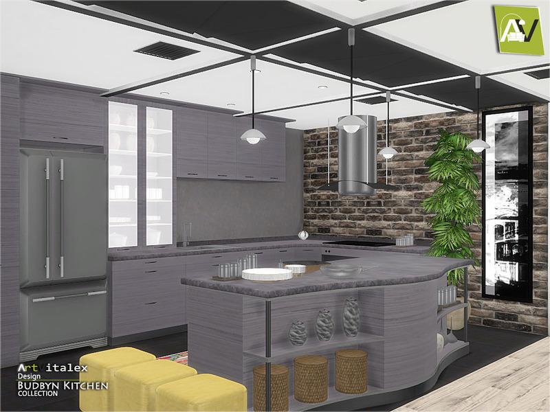 ArtVitalexs Budbyn Kitchen