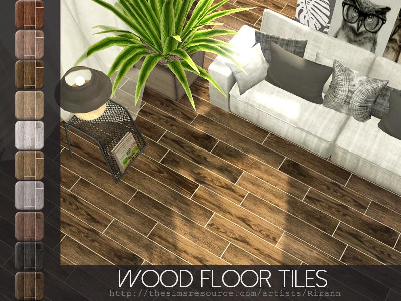 Riranns Wood Floor Tiles
