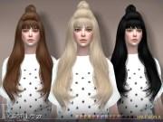 club's sclub ts4 hair bun