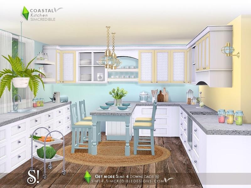 SIMcredibles Coastal Kitchen