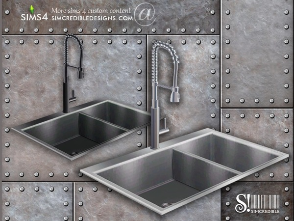 simcredible s industrial kitchen sink