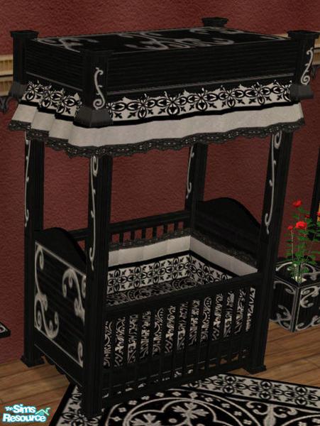 Simaddict99s Storybook Nursery RC 2 Gothic Bedding