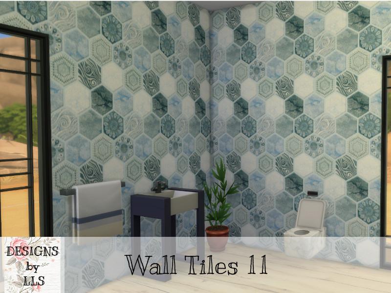 lavilikesims mixed hexagon tile