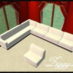 Red Sofa Sectional Sofas Ta Barato Malaga Downloads / Sims 2 Objects Furnishing Seating ...