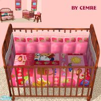 cemre's Strawberry Shortcake Set Crib Bedding
