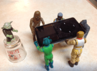 Justin Ayers great sense of humor coming to life through his Star Wars figures in 2013