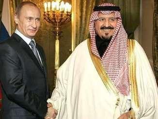 Leaders of Russia and Saudi Arabia