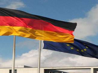 German and EU flag