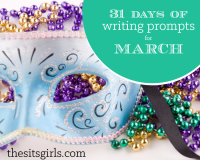 March 31 Days of Writing Prompts