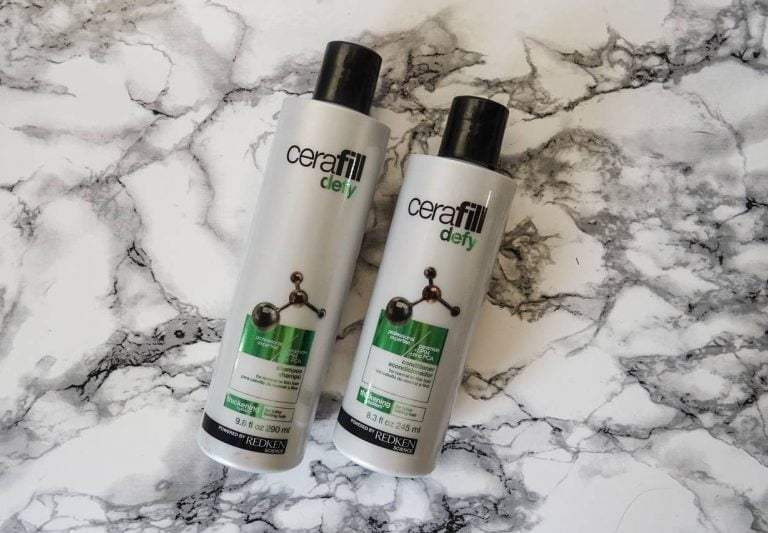 Redken Cerafill Defy Shampoo and Conditioner Review