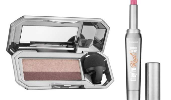 Upcoming Launches: Benefit they're Real! Duo Shadow Blender and Double The Lip