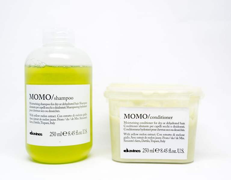 First Impressions: Davines MOMO Shampoo and Conditioner