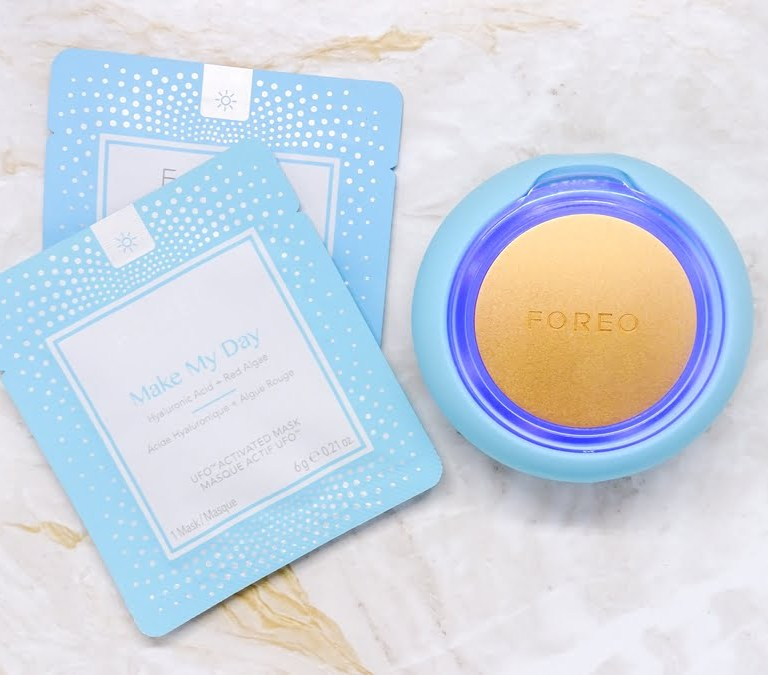 Masking in 90 Seconds with Foreo UFO.