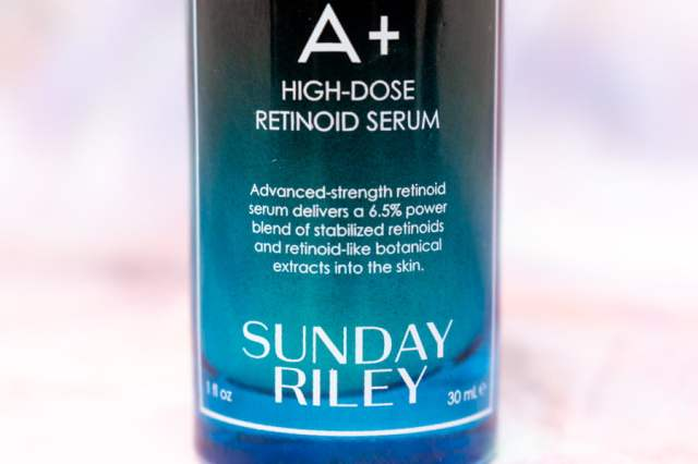 Sunday Riley A+ High Dose Retinoid Serum Review