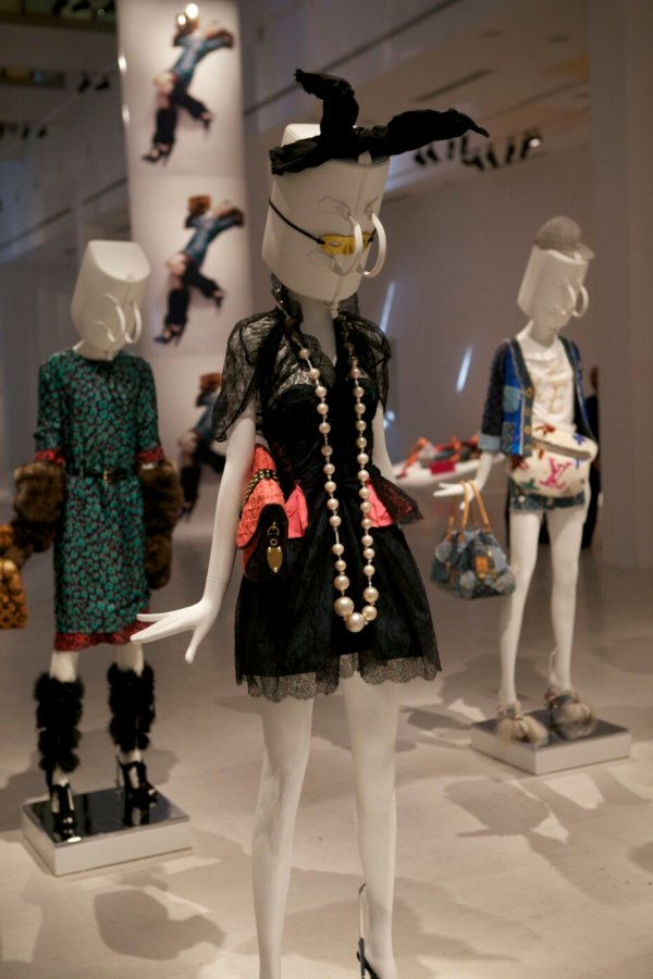 Louis Vuitton Art Of Fashion Exhibition Katie Grand Skinny Beep