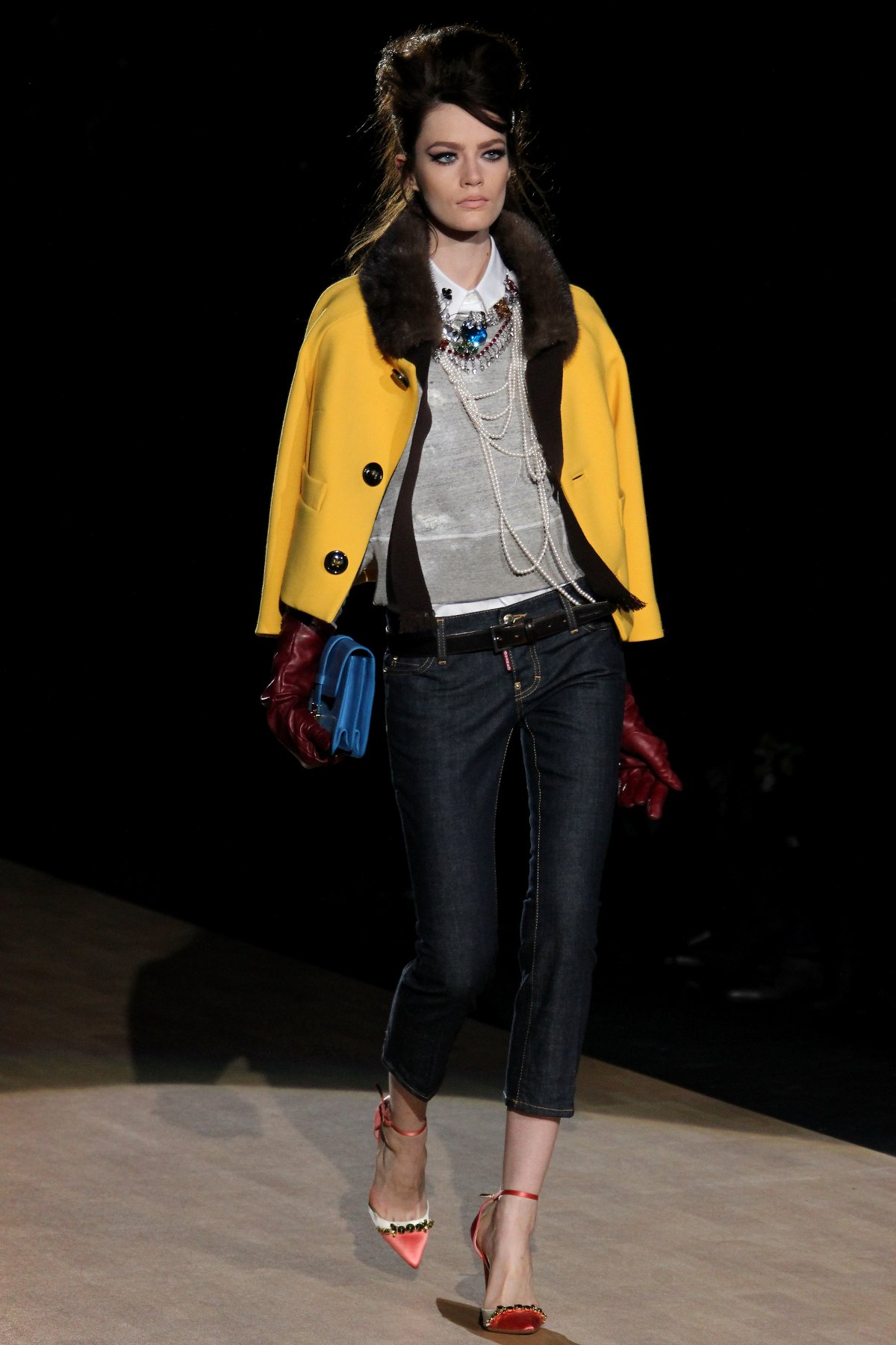 DSQUARED2 FALL WINTER WOMENS COLLECTION 201213  The Skinny Beep