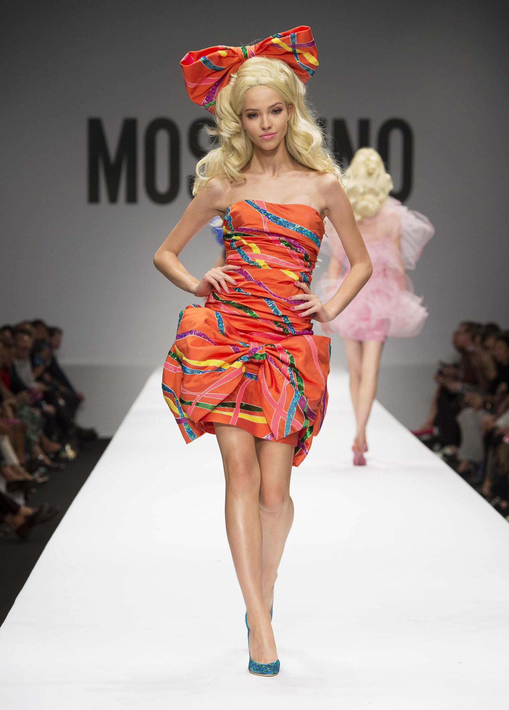 MOSCHINO SPRING SUMMER 2015 WOMENS COLLECTION  The